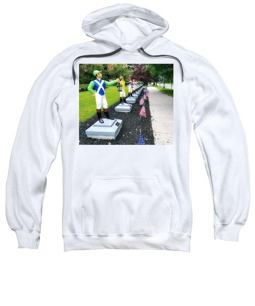 The Lawn Jockeys Of Saratoga Springs Sweatshirt