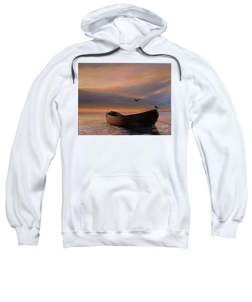 A Lone Boat Sweatshirt