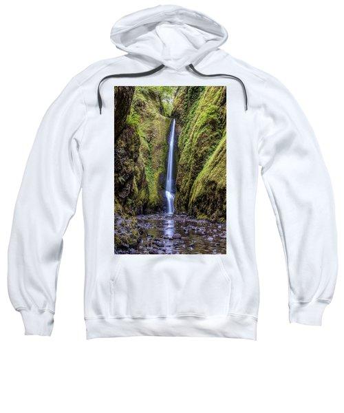 The Lush And Green Lower Oneonta Falls Sweatshirt