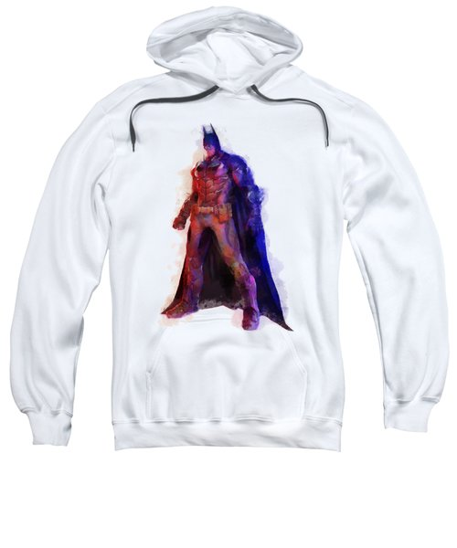 The Man With A Cape Sweatshirt