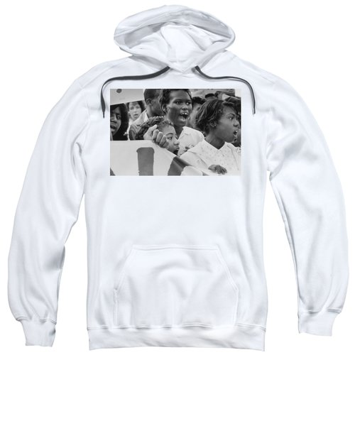 The March On Washington   A Group From Detroit Sweatshirt