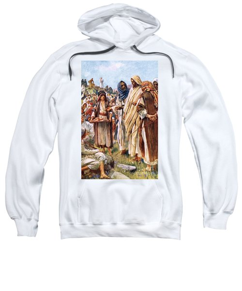 The Miracle Of The Loaves And Fishes Sweatshirt