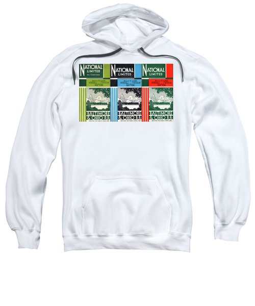 The National Limited Collage Sweatshirt