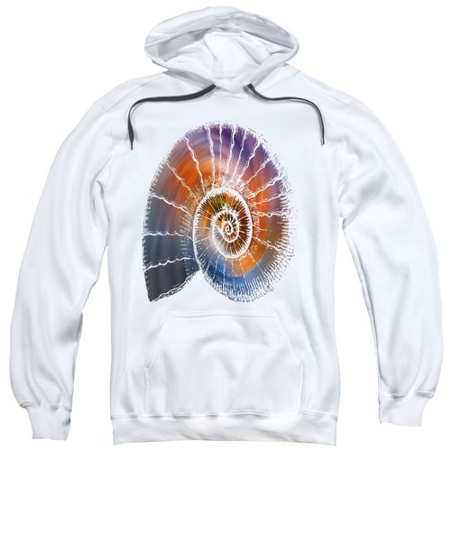 The Nautilus Shell  Transparent Sweatshirt