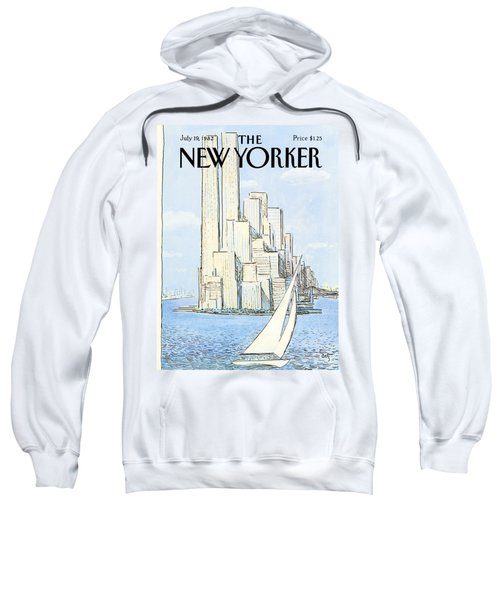 The New Yorker Cover - July 19th, 1982 Sweatshirt