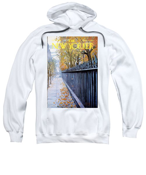 Autumn In New York Sweatshirt