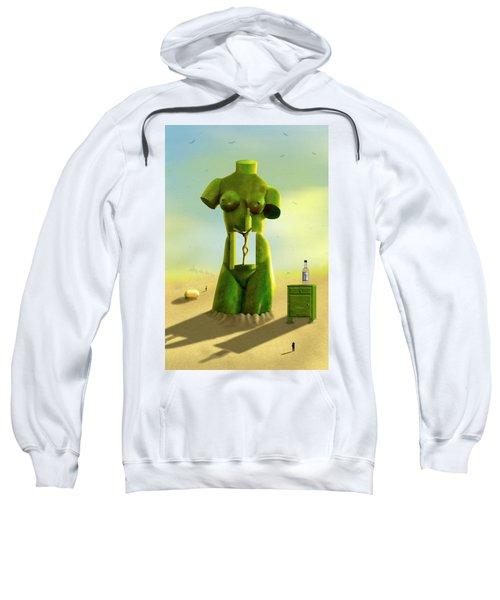 The Nightstand 2 Sweatshirt by Mike McGlothlen