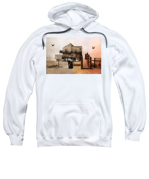 The Osprey And The Pelican Sweatshirt