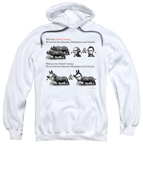 The Oxford Comma Sweatshirt