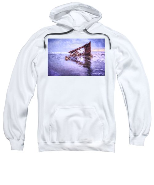 A Stormy Peter Iredale Sweatshirt