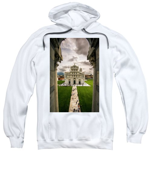 The Pisa Cathedral From The Bapistry Sweatshirt