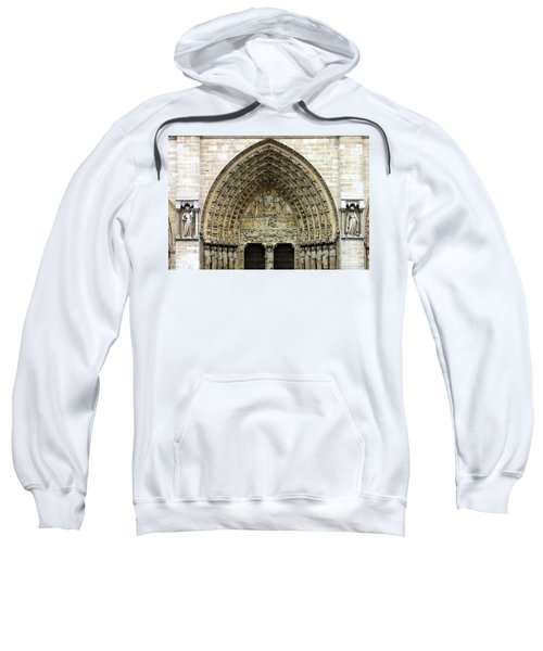 The Portal Of The Last Judgement Of Notre Dame De Paris Sweatshirt