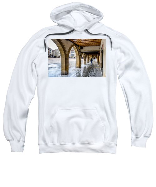 The Rain In Spain Sweatshirt by Randy Scherkenbach