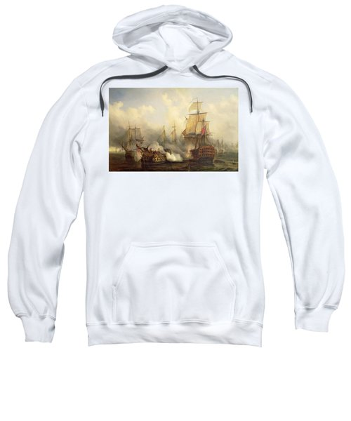 Unknown Title Sea Battle Sweatshirt