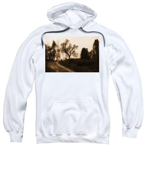 The Road To Turkey Point Lighthouse Sweatshirt