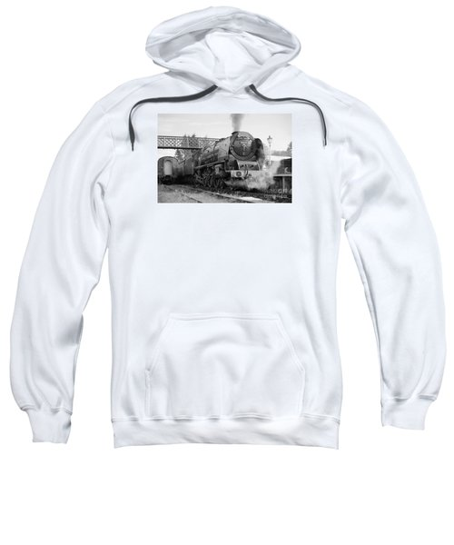 The Royal Scot In Black And White Sweatshirt