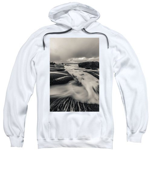 The Rush Of The North Sea Sweatshirt