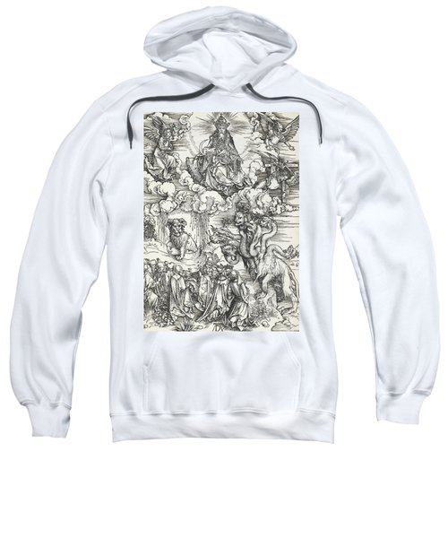The Seven-headed Beast And The Beast With Lamb's Horns Sweatshirt