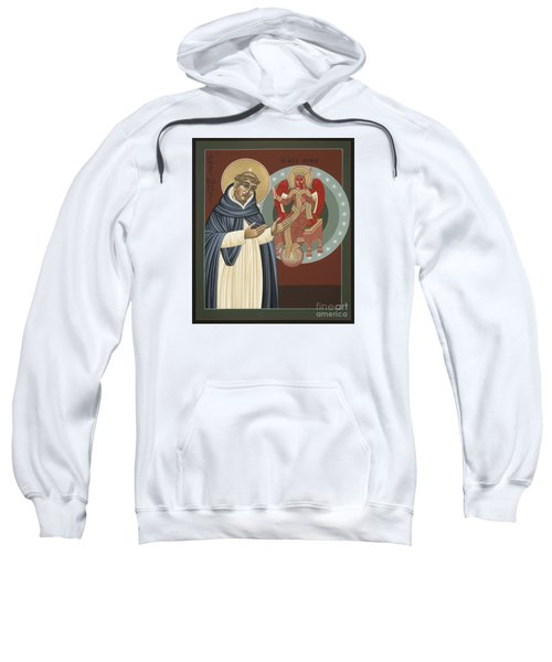The Silence Of St Thomas Aquinas 097 Sweatshirt