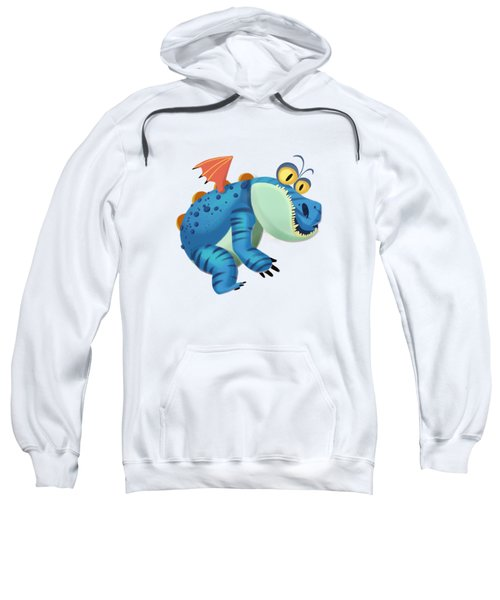 The Sloth Dragon Monster Sweatshirt by Next Mars
