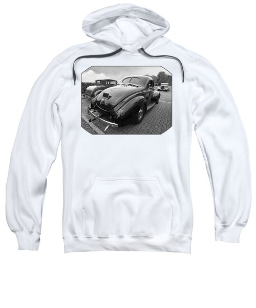 The Three Amigos - Hot Rods In Black And White Sweatshirt