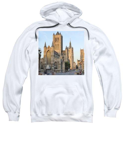 The Three Towers Of Gent Sweatshirt