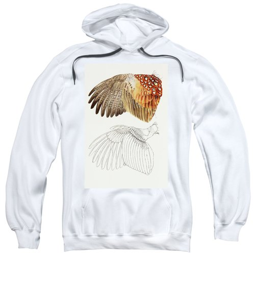 The Upper Side Of The Pheasant Wing Sweatshirt