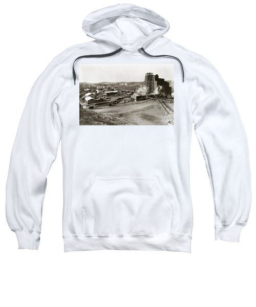 The Wanamie Colliery Lehigh And Wilkes Barre Coal Co Wanamie Pa Early 1900s Sweatshirt
