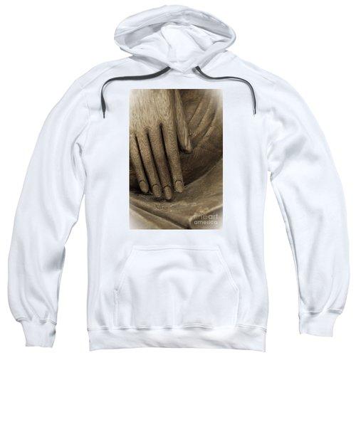 The Wooden Hand Of Peace Sweatshirt