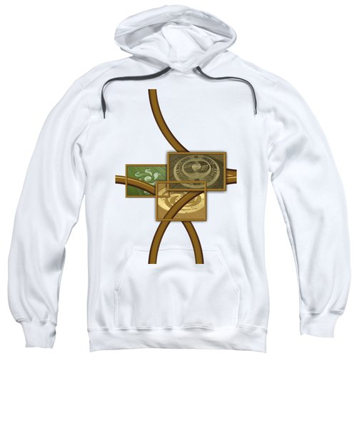 The World Of Crop Circles By Pierre Blanchard Sweatshirt by Pierre Blanchard