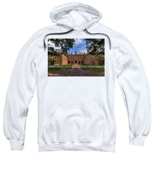 The Wren Building At William And Mary Sweatshirt
