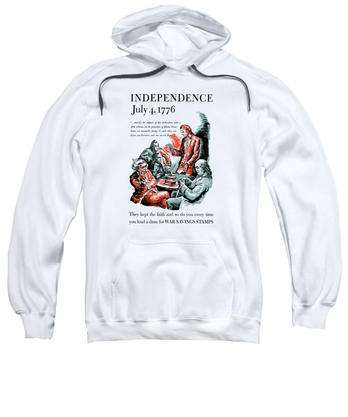 They Kept The Faith - Ww2 Sweatshirt