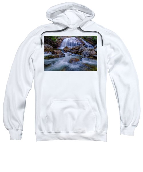 Thompson Falls, Pinkham Notch, Nh Sweatshirt