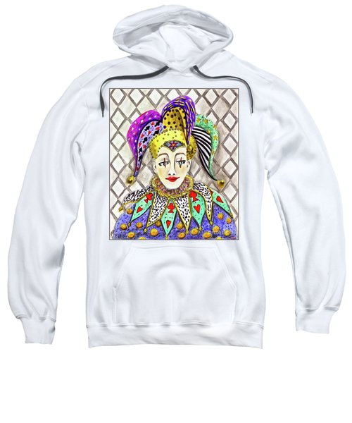 Thoughtful Jester Sweatshirt