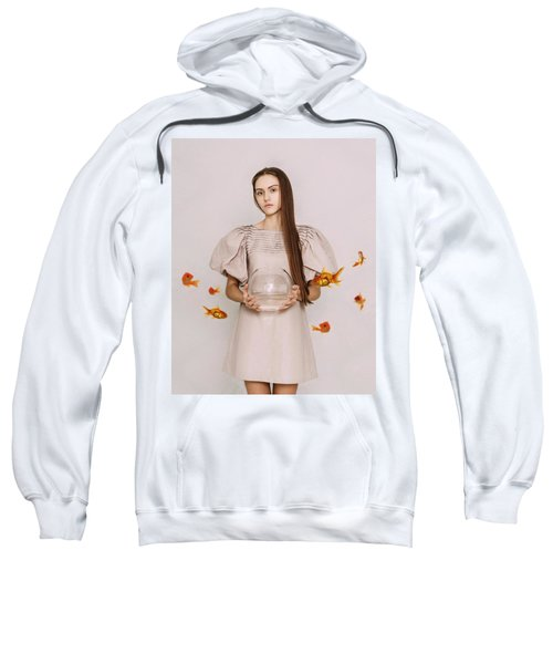 Thoughts Of Freedom. Series Escape Of Golden Fish  Sweatshirt