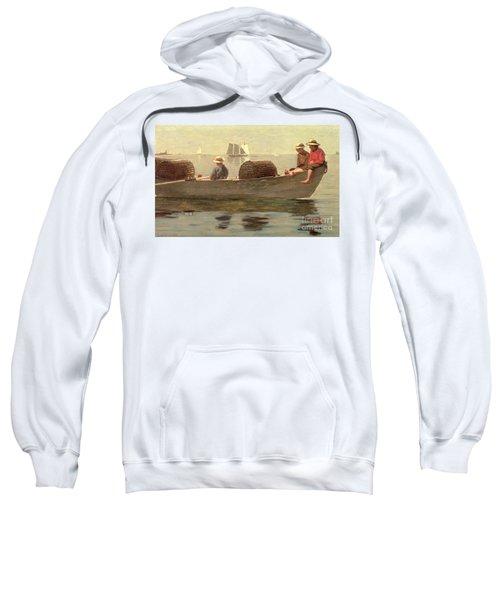 Three Boys In A Dory Sweatshirt