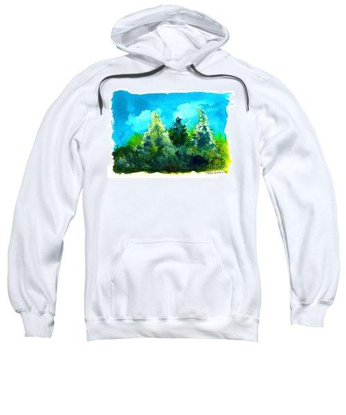 Three Evergreens Sweatshirt