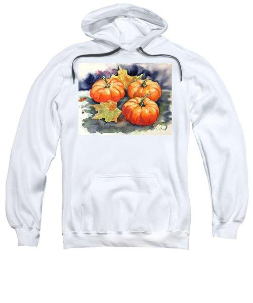 Three Pumpkins Sweatshirt