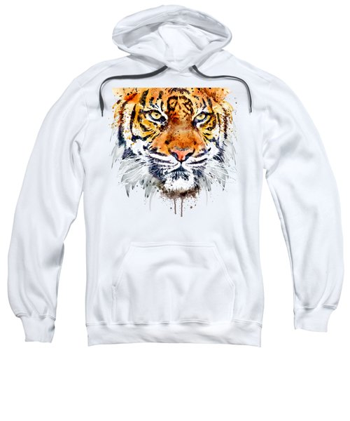 Tiger Face Close-up Sweatshirt