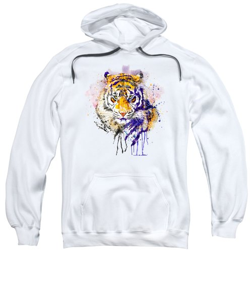 Tiger Head Portrait Sweatshirt