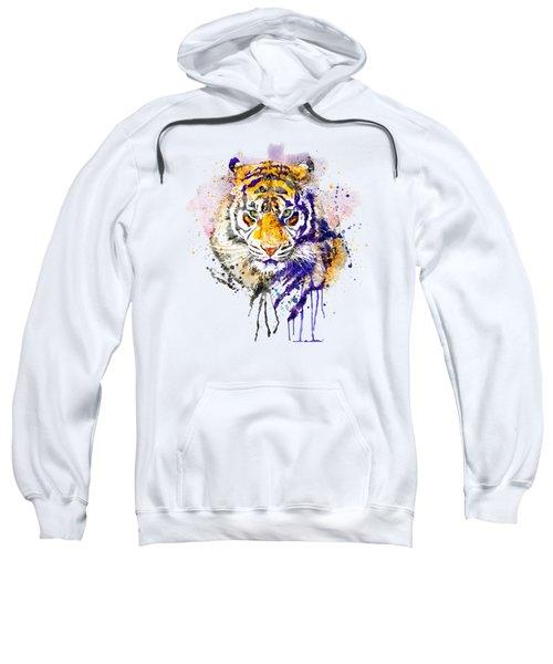 Tiger Head Portrait Sweatshirt