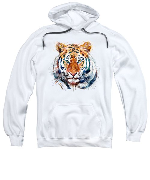 Tiger Head Watercolor Sweatshirt