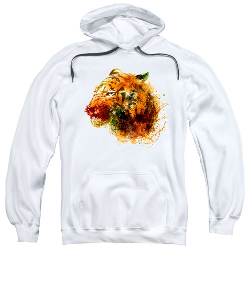 Tiger Side Face Sweatshirt