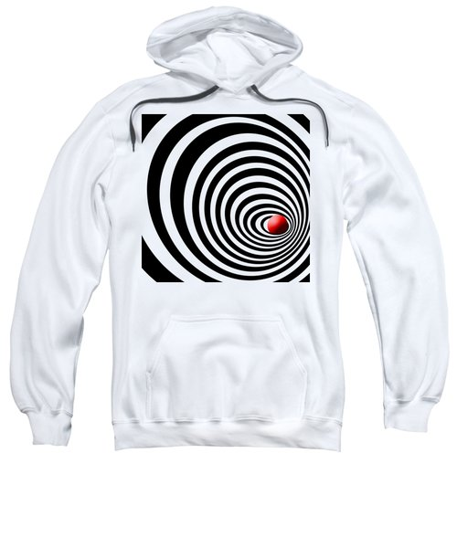 Time Tunnel Op Art Sweatshirt