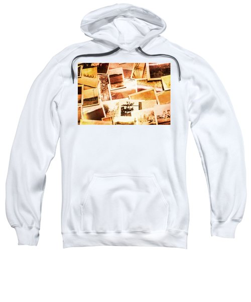 Time Worn Scenes And Places Background Sweatshirt