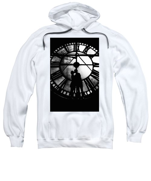 Timeless Love - Black And White Sweatshirt