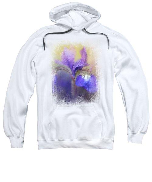 Tiny Iris Sweatshirt by Jai Johnson