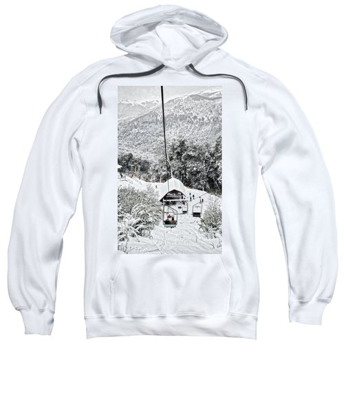 To The Land Of Frozen Dreams In The Argentine Patagonia Sweatshirt