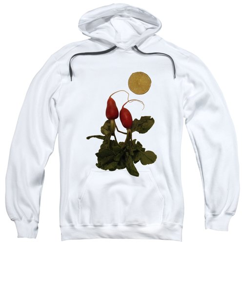 Together Under The Citrus Moon - On White Sweatshirt