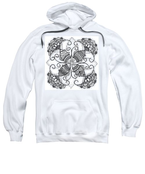 Together We Flourish - Ink Sweatshirt